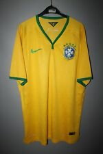 BRAZIL NATIONAL TEAM 2014 2015 2016 PLAYER ISSUE FOOTBALL SHIRT JERSEY NIKE
