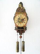 Dutch Vintage Antique Warmink Horse Wall Clock (Zaanse Friesian Sallander era)