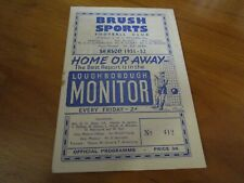 More details for brush sports ( leicester shire )  v  sutton town ( nottingham ) both gone 1951/2