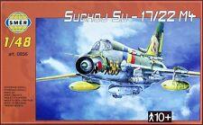 Sukhoi Su-22 M4 Ajustador K (Luftwaffe, Alemania Oriental & soviético MKGS) 1/48 Smer