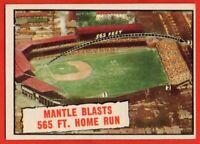 1961 Topps #406 Mickey Mantle EX-EXMINT+ World Series New York Yankees HOF