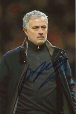 Jose Mourinho  Manchester United  Fußball Foto original signiert 362827