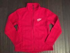 Detroit Red Wings NEW Womens Medium Crossover Jacket . NHL Hockey NWT Sweater