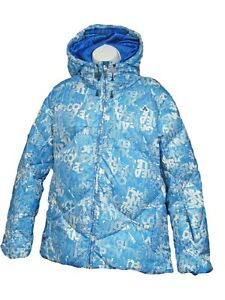New NIKE ACG Womens Ladies THERMORE STORMFIT Ski Snow Jacket Coat Blue M