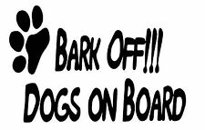 Dogs on Board Vinyl Car Sticker\decal