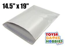 5 Poly Mailers Envelopes Plastic Shipping Bags Self Seal 14.5x19 Security color