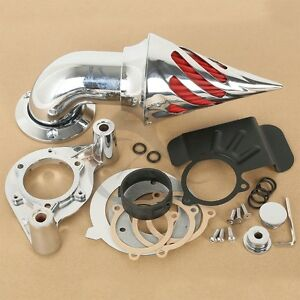 New Air Cleaner Kit Intake Filter Fit for 08-12 Harley Electra Street Road Glide
