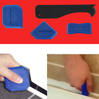4Pcs Silicone Sealent Spreader Scraper Caulking Remover Grout Caulk Tool Kit Pro