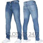Mens Super Stretch Spray On Tight Denim Skinny Designer Branded Jeans Pants Size