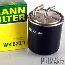 MANN FILTER WK820/1 KRAFTSTOFFFILTER MERCEDES C 203 204 E 211 SPRINTER 906 VITO