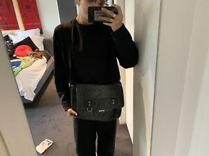 Gucci Leather GG Crossbody Satchel Bag