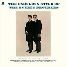 Fabulous Style of the Everly Brothers by The Everly Brothers (Vinyl, Sep-2015, Wax Time)