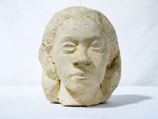 ATT. Richmond Barthe  (1901-1989) Clay Sculpture, Bust of African America Female