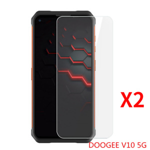 2PCS Tempered Glass Film Cover Screen Protectors For Doogee V10 5G DoogeeV10 5G