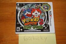 Yo-Kai Watch 2: Bony Spirits (Nintendo 3DS) NEW SEALED Y-FOLD MINT