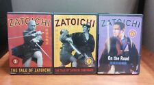 Zatoichi - Vol 1, 2, and 5   (3 DVD Set)     LIKE NEW
