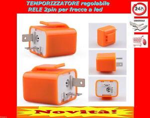 relè relay rele 12v temporizzatore lampeggio regolabile per FRECCE a LED moto