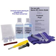 Epson HP Canon Kodak Printer nozzle unblocker 120ml Print Head cleaning Kit