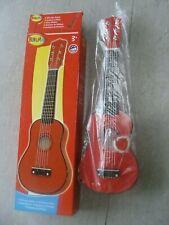 Schöne Gitarre aus Holz für Gitarrenspieler ab 3 Jahre=länge ca 54cm