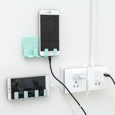 Universal Mobile Phone Charging Holder stand Wall Mount Adapter Hanger Home