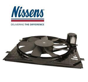 For Mercedes W220 Engine Auxiliary Cooling Fan Radiator Fan Assembly w/ Motor