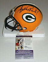 PACKERS Andre Rison signed mini helmet w/ #84 JSA COA AUTO Autographed