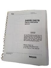 2465 2467B Service Manual.