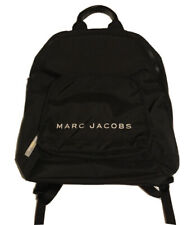 MARC JACOBS Classic Logo Backpack Black NEW
