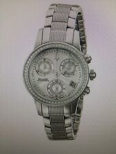 Bulova Accutron Women's 63R34 Masella Diamond Chronograph Swiss Quartz Watch