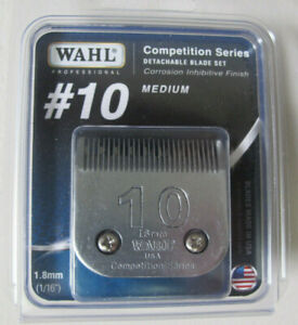 Wahl Professional Animal Competition Series Detachable Blade #10