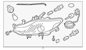 Genuine Nissan 2009-2010 Murano Headlamp Assembly 26010-1AA5E