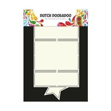 Dutch Doobadoo Card Art Template - Star #713604