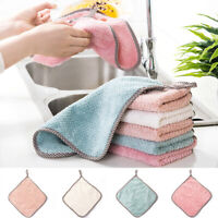 Microfiber Hanging Dish Absorbent Washing Towel Kitchen Car Cleaning Cloth