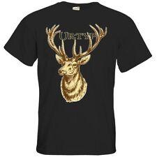 Hirsch L Herren-T-Shirts in normaler Größe
