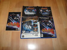 ONIMUSHA DAWN OF DREAMS DE CAPCOM CON 2 DISCOS PARA LA SONY PS2 USADO COMPLETO