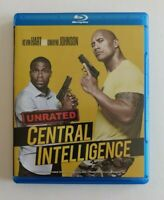 Central Intelligence (Blu-ray Disc, 2016) Kevin Hart Dwayne Johnson