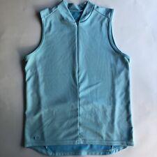 Nike Womens Bicycle Shirt Medium 8-10 Terquoise Back Pockets