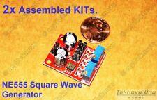 2x Assembled RED NE555 LM555 SMD Adjustable Square Wave Generator KIT - USA