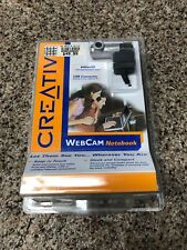 Creative Labs Webcam Notebook Camera with Clip  PD1170 New Sealed