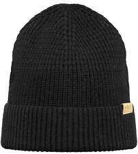 Barts Mütze LINCOLN Beanie black Mütze schwarz Beanie Merino Winter Mütze