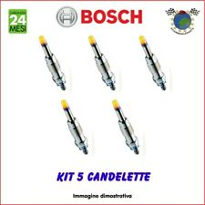 Kit 5 candelette Bosch LAND ROVER DISCOVERY II DEFENDER