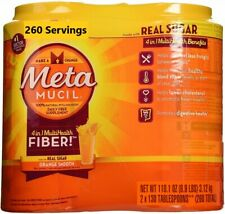 Metamucil Fiber Supplement, Orange, 260 Servings NEW! Free Shipping!