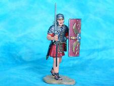 Soldat romain en plomb peint
