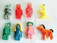 Kubrick Gumby Space Suit Blockhead J G Goo Minga Medicom Toy figure 8 set Japan