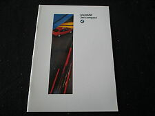 1996 BMW 318ti Compact German Brochure E36 3 Series 316i 318tds Sales Catalog