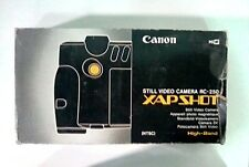 Canon (Vintage) RC-250 Xap Shot Still Video Camera