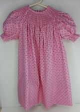 Girls New Handmade Size 5 Ready to Smock Bishop Dress