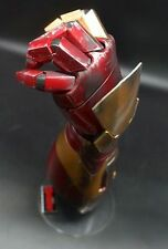 CATTOYS Iron Man Mk42 1/1 Gauntlet Auto Light Up Laser REALISTIC PAINT Left