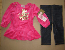 Juicy Couture Baby Legging Top Set Haphazard 18-24 months NEW $78