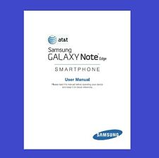 Samsung Galaxy Note Edge User Manual for AT&T (model SM-N915A)